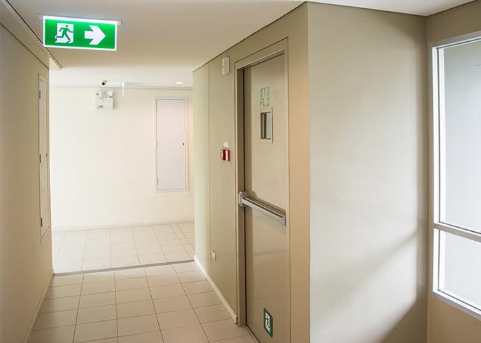 Porte tagliafuoco per hotel