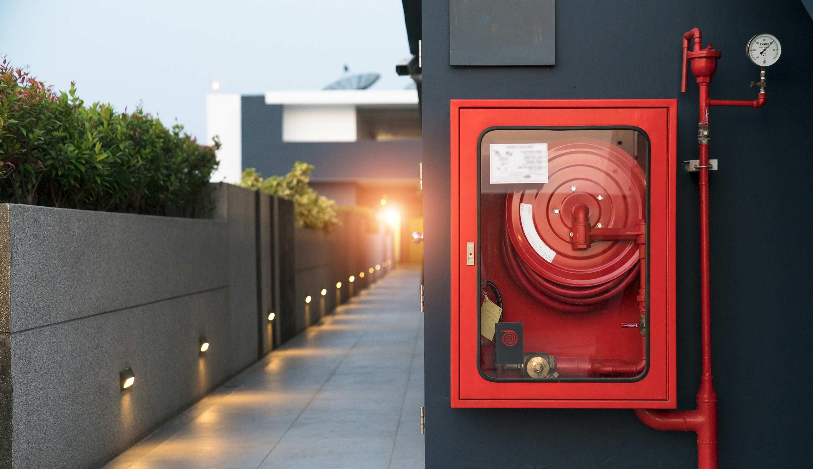 Cassette antincendio